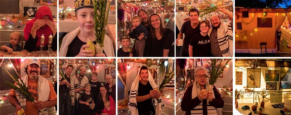 Sukkot 5778 - Collage
